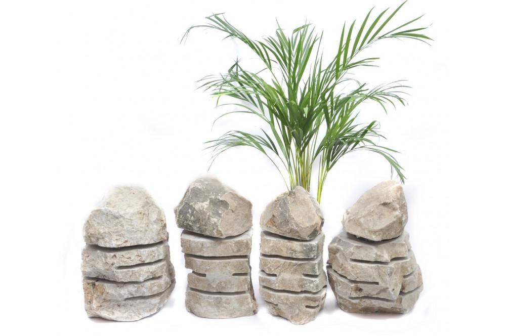akcesoria i dodatki do aranżacji ogrodu industone lampy z kamienia rzecznego