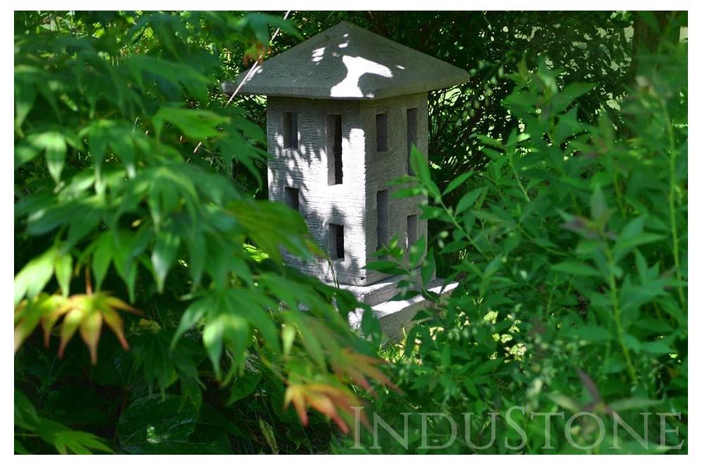 lampa ogrodowa industone wykonana z betonu betonowa