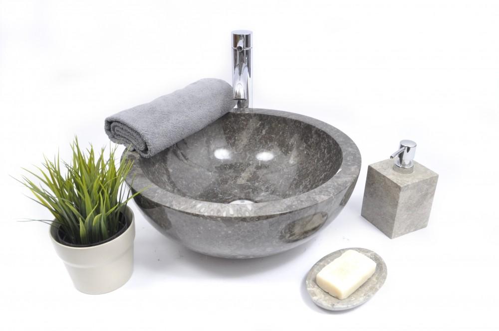 InduStone najpopularnijesza szara umywalka kamienna
