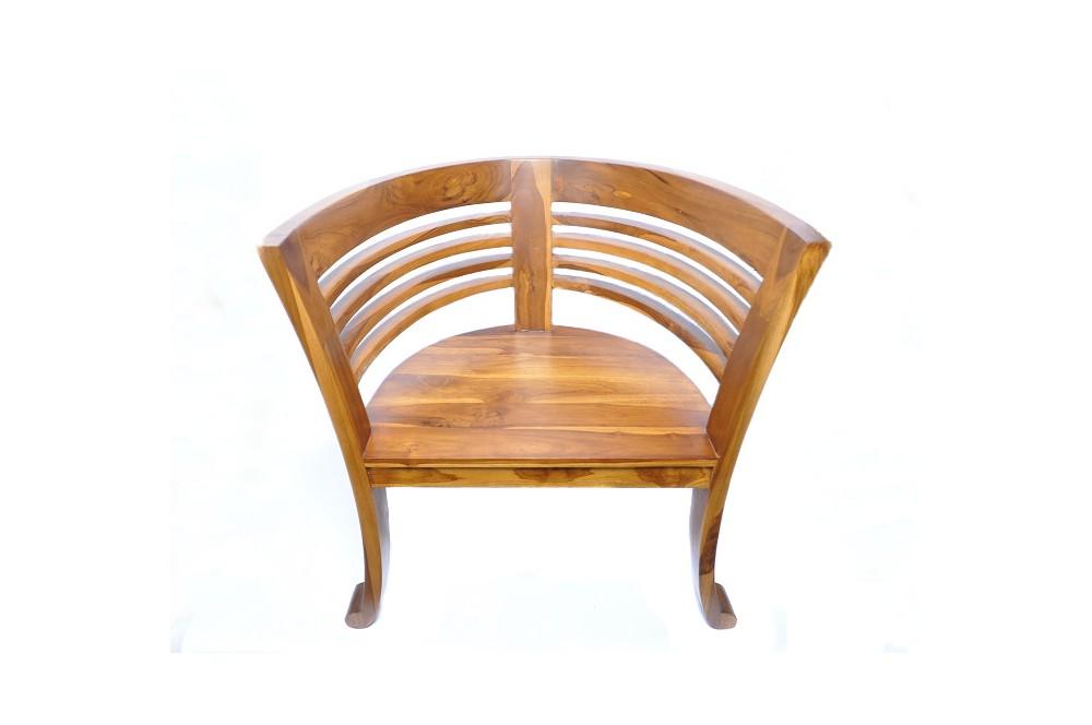 krzesło rzymskie kolonialne drewno egzotyczne